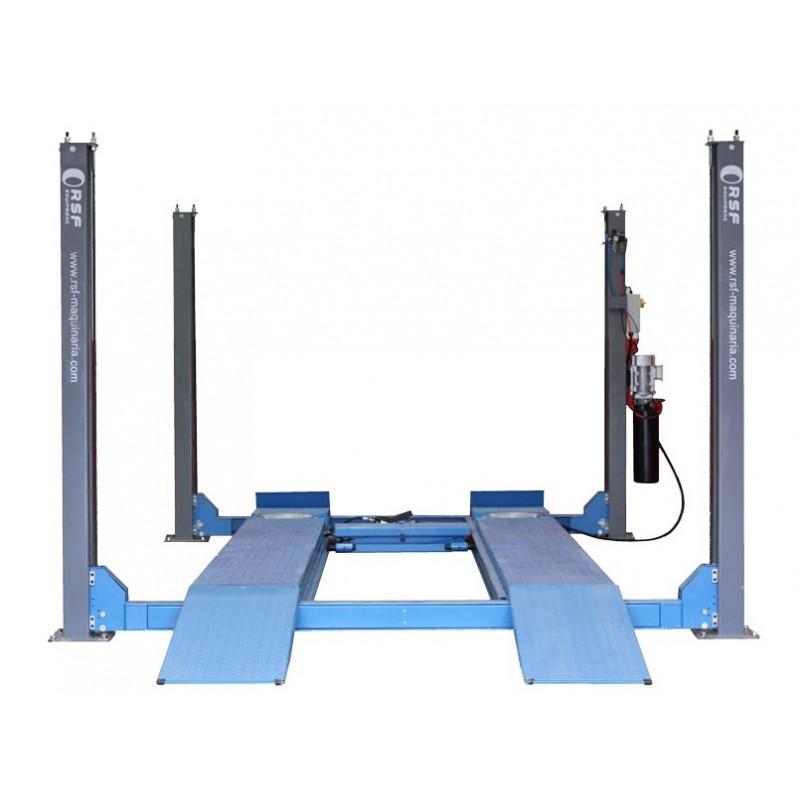 Elevador 4 columnas hasta 5 T diseñado para alineación HP-45A