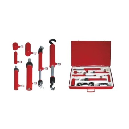 Kit de herramientas hidráulica para reparación de chapas