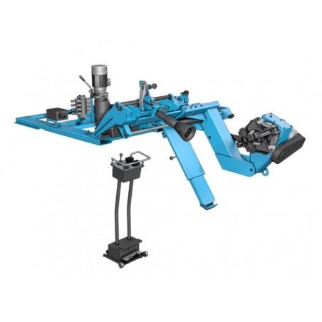 Desmontadora industrial para taller móvil DCF-65
