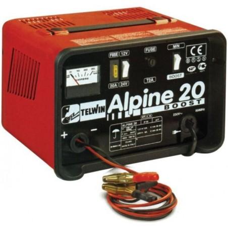 Cargador De Baterías TELWIN Alpine 20 Boost