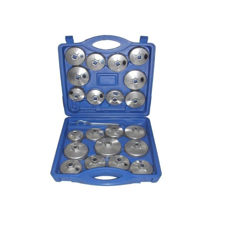 Set 23 Piezas Extracción Filtros Aceite - Aluminio