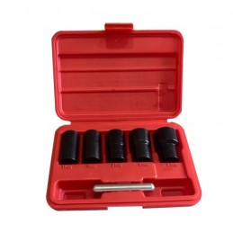 "SET DE VASOS TWIST 1/2"" PARA EXTRACCION DE TORNILLOS DE SEGURIDAD"