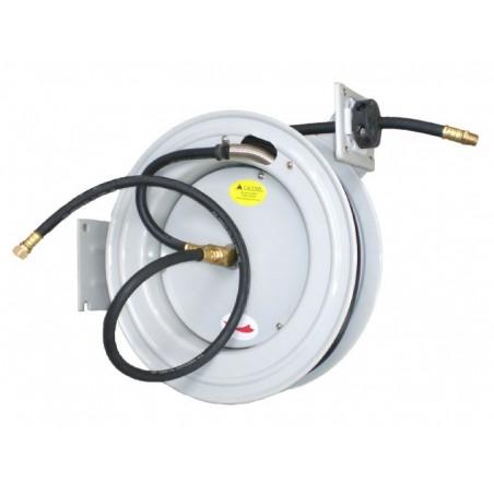 Enrollador automático de manguera de aceite