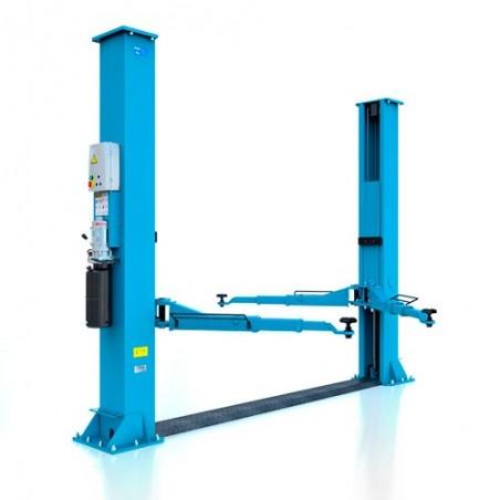 Elevador 2 columnas Hidráulico 5000 Kg con puente inferior HP - 50