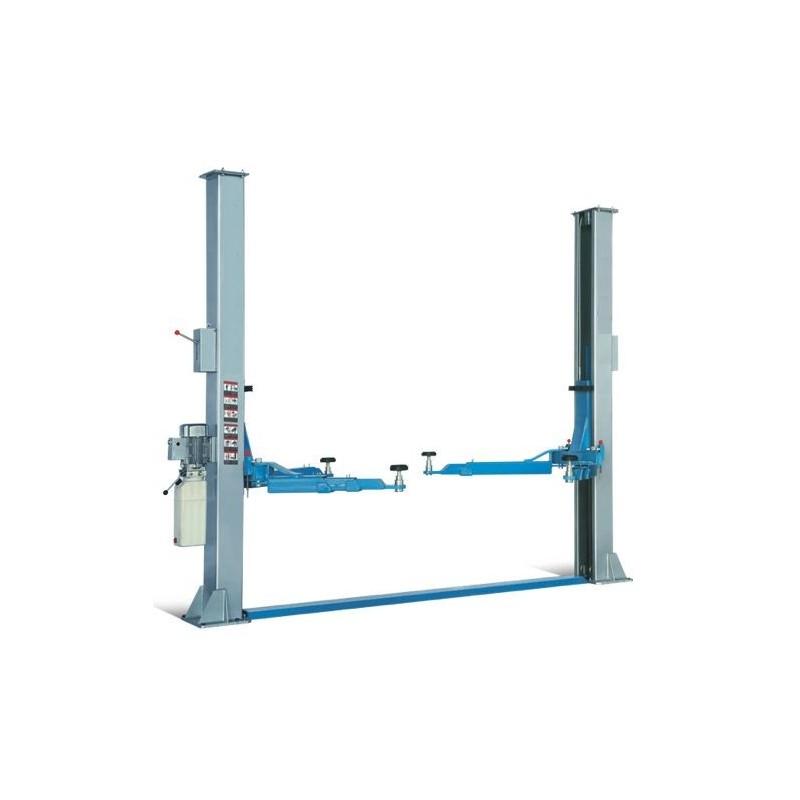 Elevador 2 columnas sincronizado mediante cables de acero HP - 40M